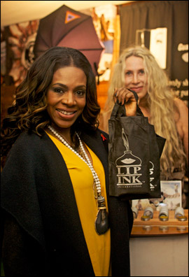 Lip Ink at the Red Carpet Style Lounge with Sheryl Lee Ralph