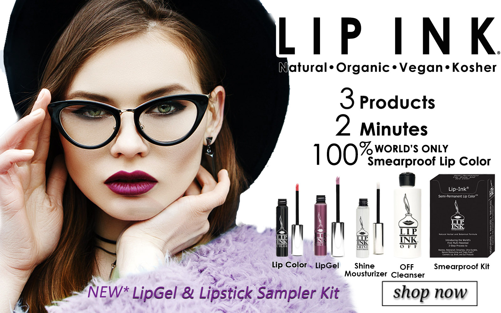 Lip ink Lip Gel Lip Stick Sampler Kit