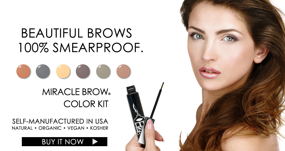 LIP INK Vegan 100% smearproof Miracle Brow Color Kit