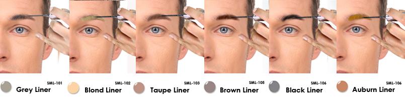 Lip Ink Smearproof brow tint, Colorswatch
