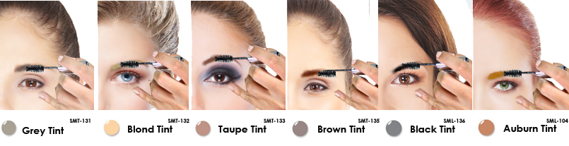 Lip Ink Smearproof brow tint, Colorswatch