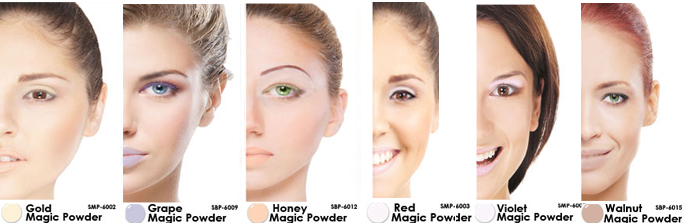 Lip Ink Smearproof Powder, Colorswatch