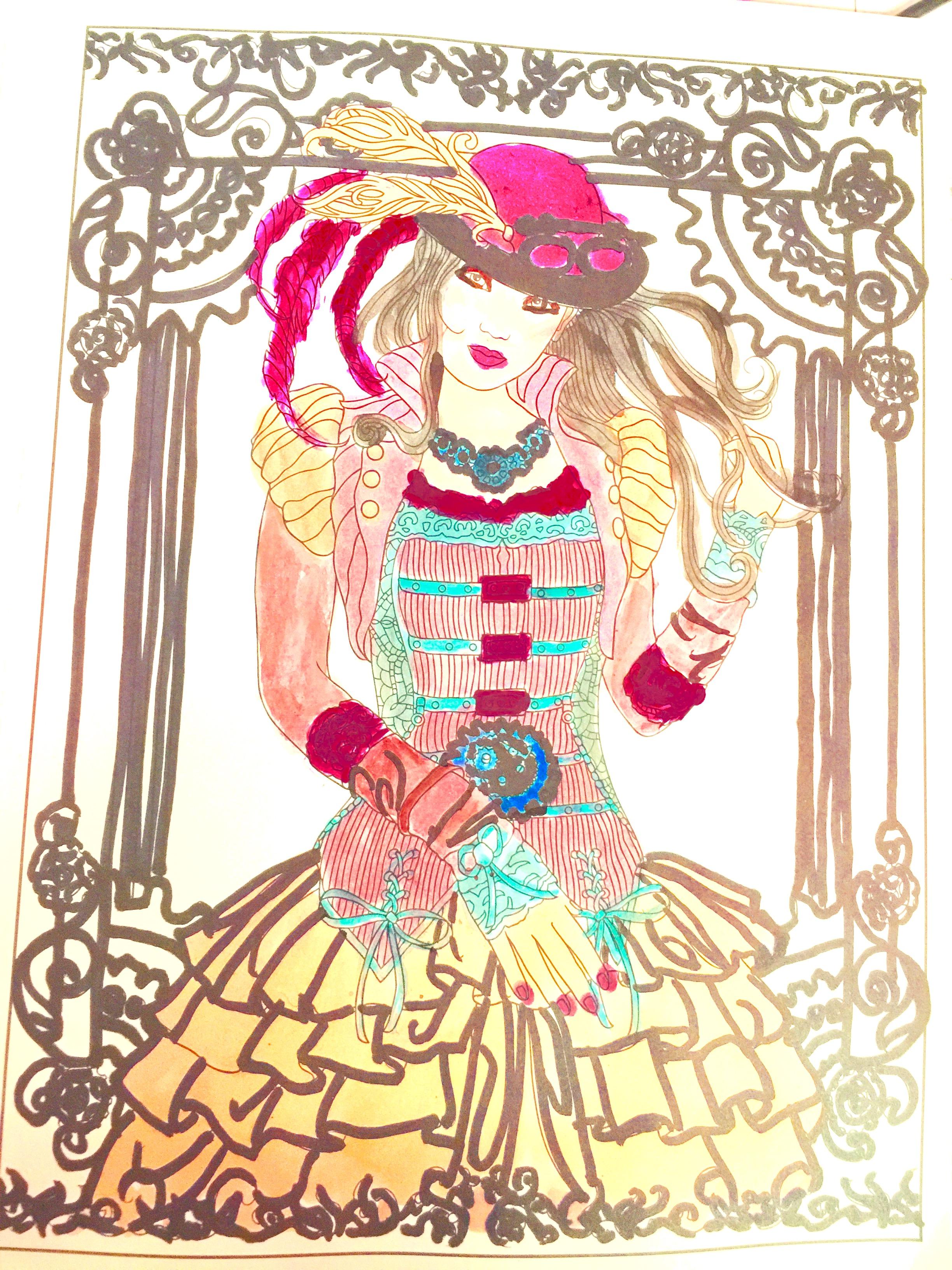 Steampunk Girl lipink museum