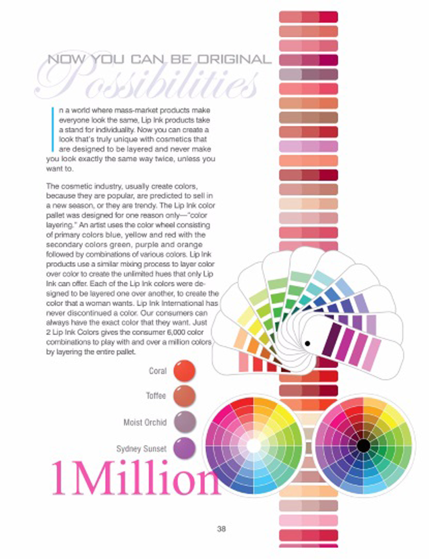 lip ink color wheel 2 million