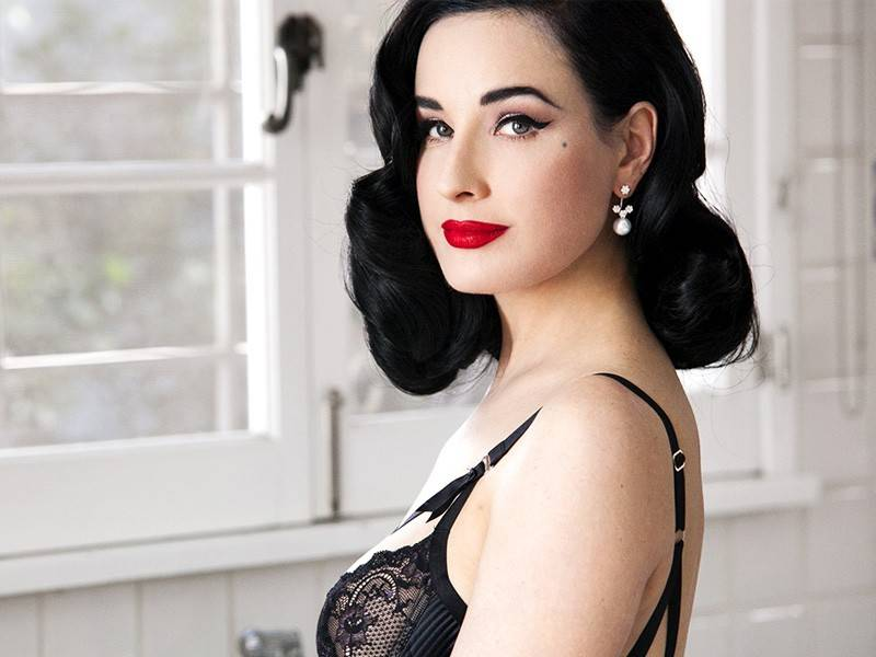 Dita Von Teese photo from her book 'Your Beauty Mark'