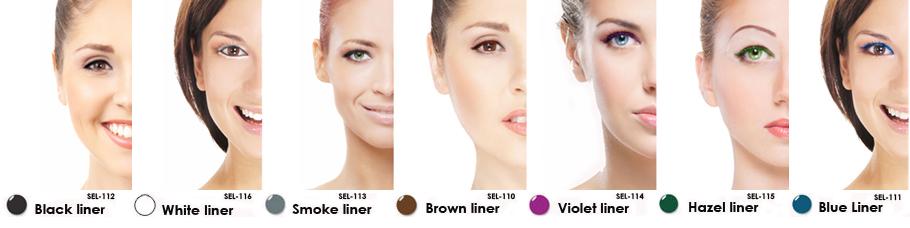 Lip Ink Waterproof Smearproof Long Lasting Liquid Eyeliner