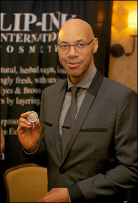 Lip Ink at the Red Carpet Style Lounge with John Ridley