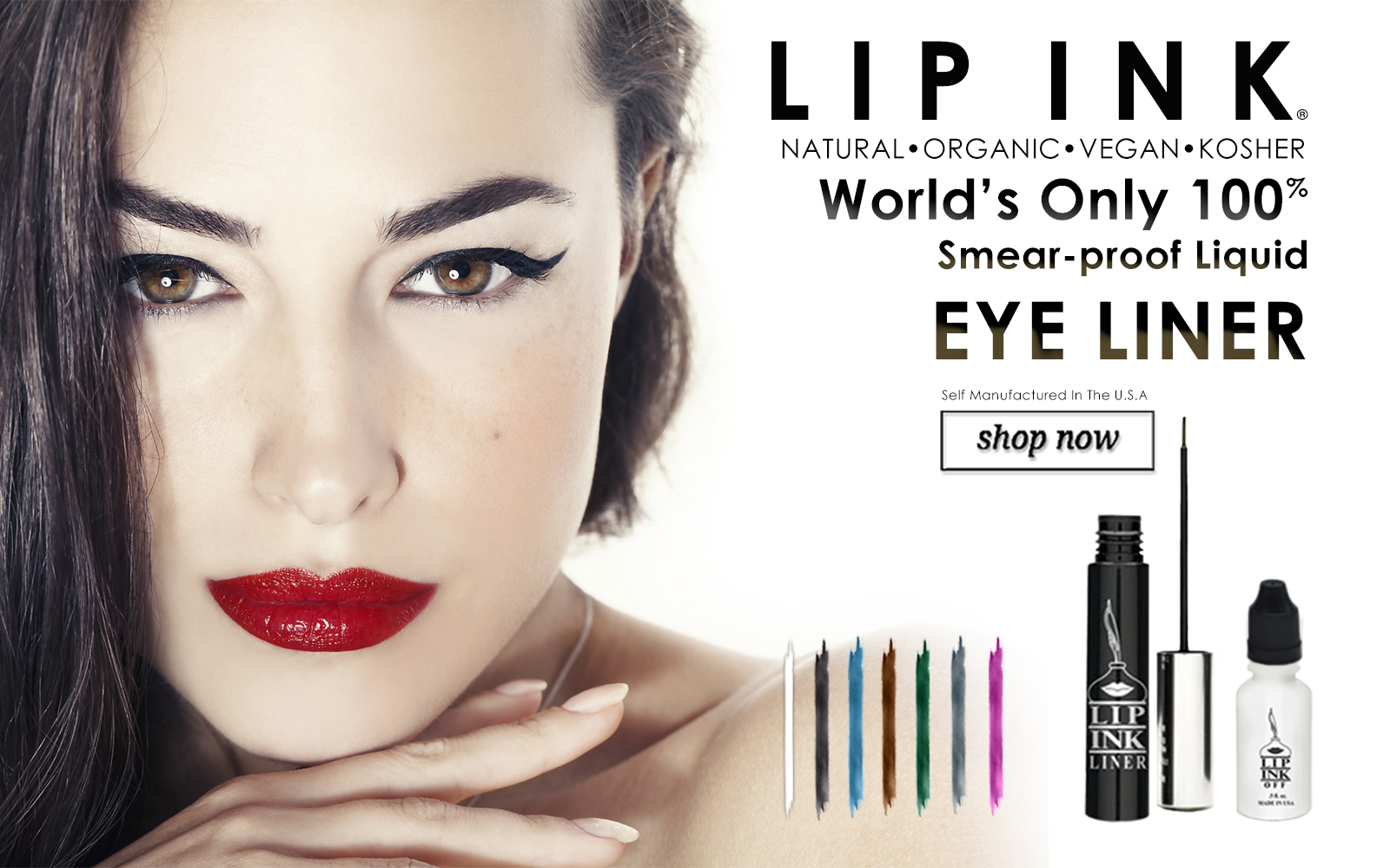 lip ink smearproof liquid eye brow liner