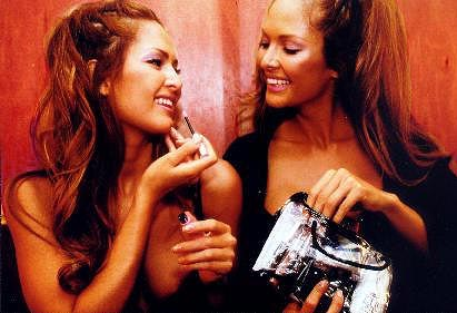 The Bernaola Twins are Playboy's Playmate 2000