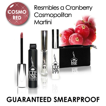 Limited Edition Cosmo Red Lip Stain Kit